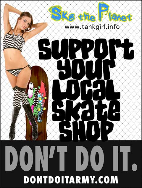 Support your local skateboard shop #sylss flyer
