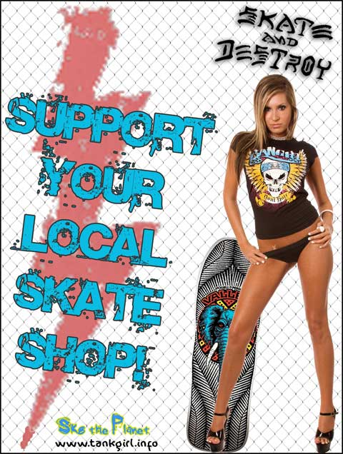 Support Your Local Skate Shop! #sylss