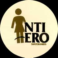 Girl Anti Hero skateboard logos