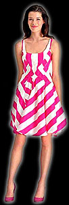 T-Mobile Girl Carly Foulkes dress