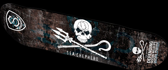 Sector 9 Sea Shepherd skateboard