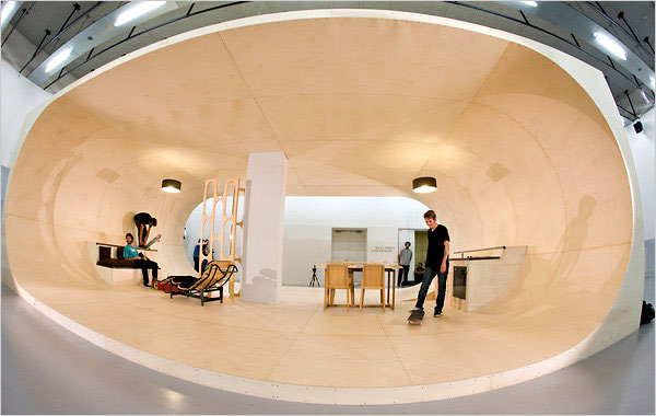 completely skateable  House