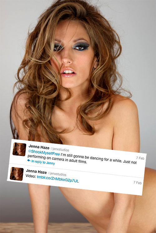 Porn star Jenna Haze retires from the adult industry