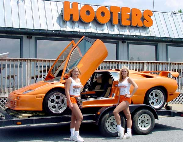 Hooters executive lamborghini