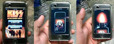 Kiss IPhone Lighter