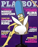 Marge Simpson Playboy Playmate