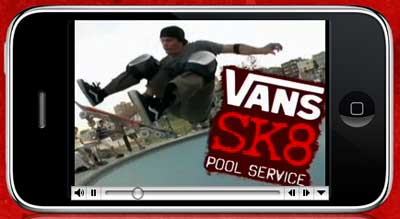 Vans iPhone game